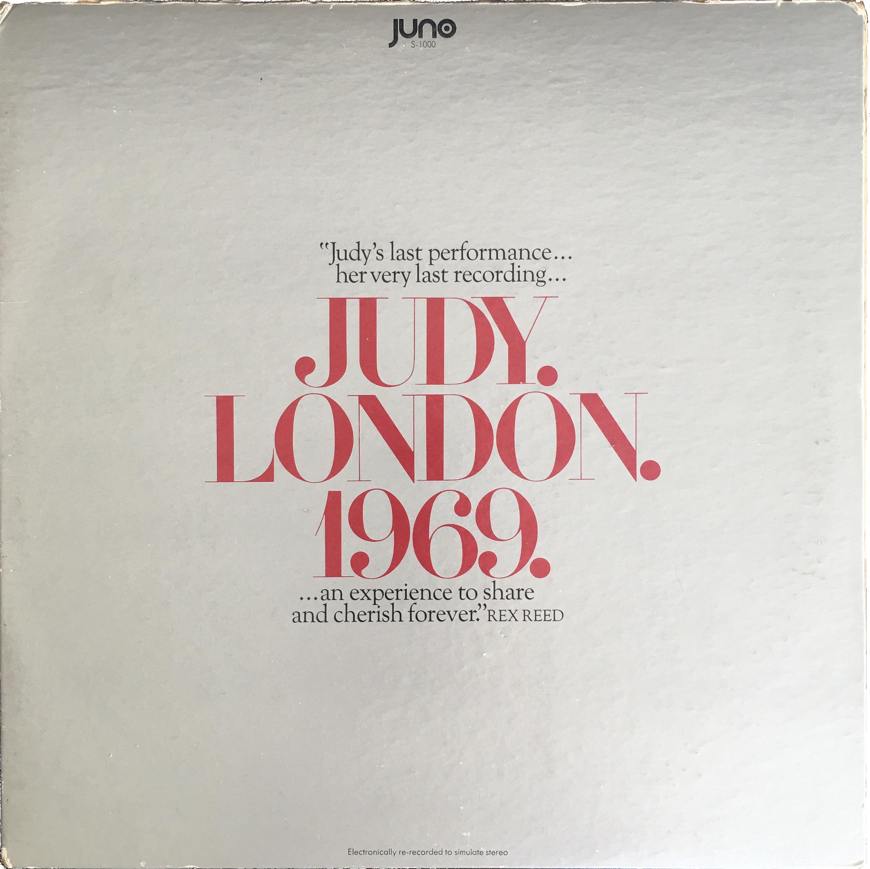 Judy.London.1969. album